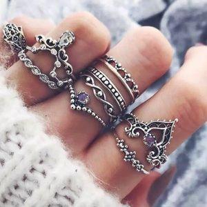Jewelry - RESTOCKED 🌷Tibetan Rings Set